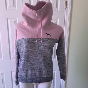 Victoria's Secret Pink Cowl Neck Sweatshirt